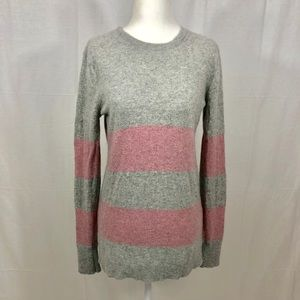 Banana Republic Sweater, Size Medium, Gray/Pink